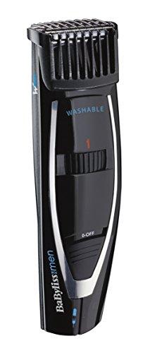 BaByliss For Men E856E - Regolabarba, Lame Wtech  - Lunghezza da  1 a 18 mm - Precisione 1 mm - Rete/ricaricabile
