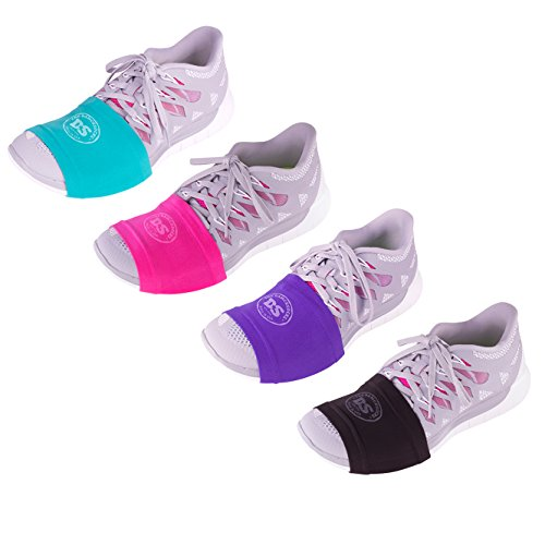 THE DANCESOCKS | The Original | Sneaker Socks for Dancing on Smooth Floors (Black, Purple, Pink, Turquoise)