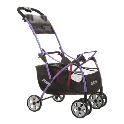 Safety 1St Clic It Universal Infant Car Seat Carrier, Purple front-927512