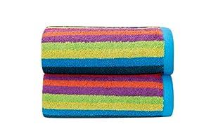Sorema Rainbow - Toalla para tocador, de algodón, 30 x 50 cm, multicolor por Sorema - Bebe Hogar