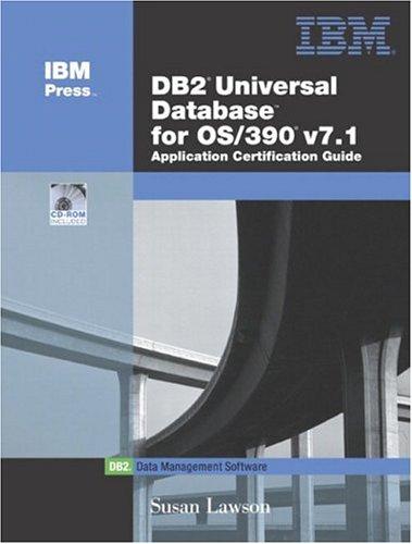 DB2(R) Universal Database for OS/390 V7.1 Application Certification Guide