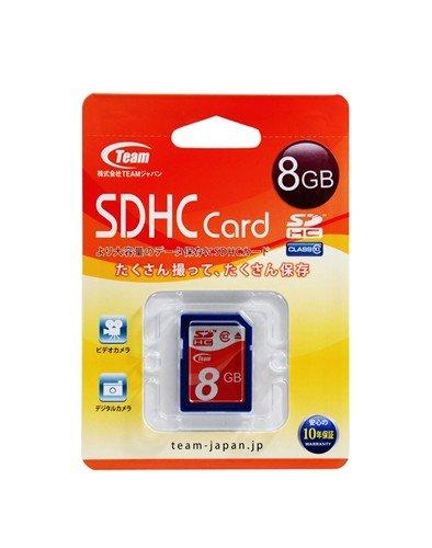 Team SDカード SDHC CLASS10 8GB TG008G0SD28X