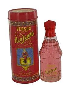 RED JEANS by Versace, Eau De Toilette Spray 2.5 oz, Women