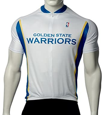 NBA Golden State Warriors Mens Cycling Jersey by VOmax