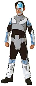 Teen Titan Cyborg Costume Boy - Child Large 12-14