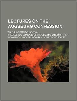 CONFESSION AUGSBURG