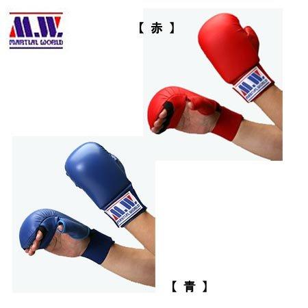 Partidario de karate tradicional tipo puño General, rojo