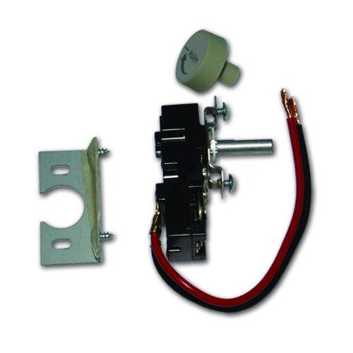 King Tkit-1 Single-Pole Built In Thermostat Kit, White