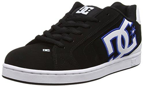 DC ShoesNet M - Scarpe da skateboard Uomo, Nero (Black (Black/White/Blue)), 42 EU