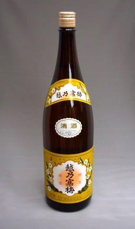 【越乃寒梅】白ラベル(普通酒)720ml 化粧箱入り