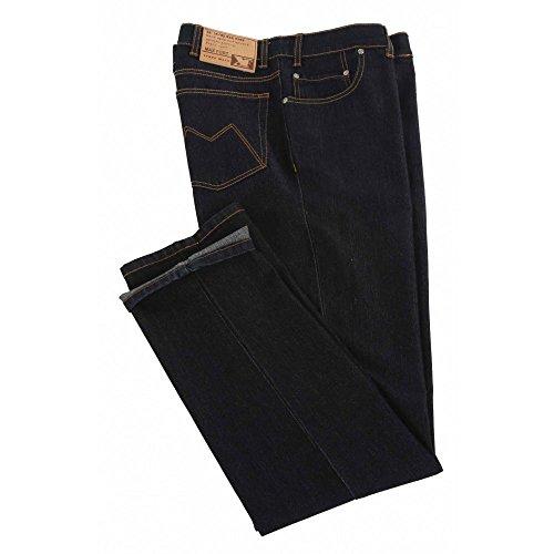 Jeans Maxfort elasticizzato taglie forti uomo - Blu scuro, 64 GIROVITA 128 CM