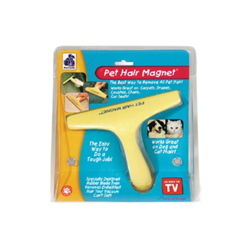 Petmate Pet Hair Magnet Yellow