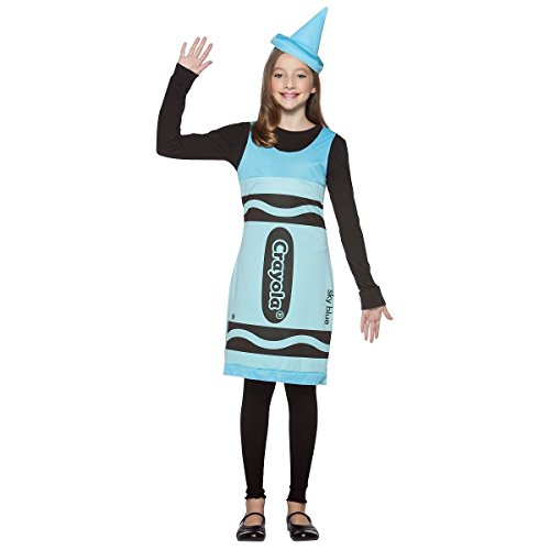 [GSG Crayon Tank Dress Preteen/Tween Costume Funny Fancy Halloween] (Nurse Costumes For Teens)