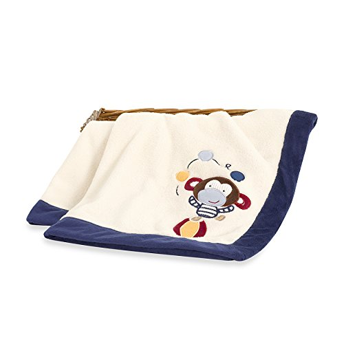 Circus Act Monkey Baby Blanket - 1
