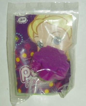 Polly Pocket Digital Watch Clock Ring - Burger King Toy Amazon.com