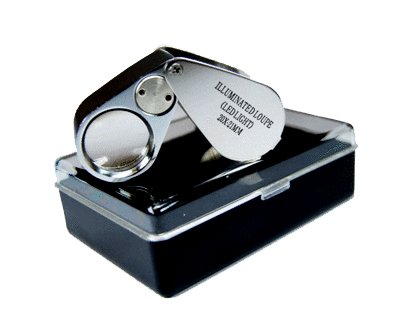 20X LED Lighted Loupe Magnifier