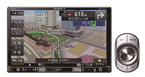 Pioneer 8V型VGA地上デジタルTV/DVD-V/CD/Bluetooth/SD/チューナー・DSP AV一体型メモリーナビゲーション AVIC-RL99