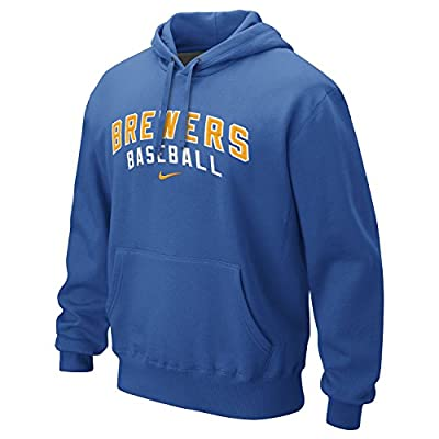 Milwaukee Brewers Royal Classic Pullover Hooded Sweatshirt