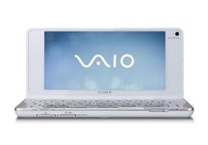 Sony Vaio P11ZW 8-inch Netbook, Intel Atom Z520 1.33Ghz, 2GB RAM, 60GB HDD, Vista Home Premium (White)
