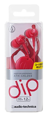 Audio Technica ATH-CKL203 RD In-the-ear Headphone – Red Rs.599 – Amazon