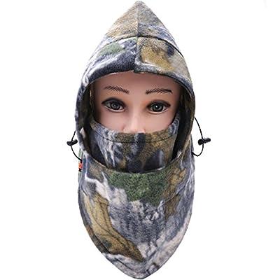 Bemall Winter Heavyweight Warm Windproof Balaclava Outdoor Sports Mask