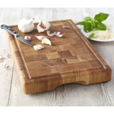 Lakeland Wooden Oak Chopping Board Block