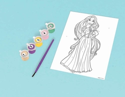 Disney Princess Paint by Numbers Set - 1