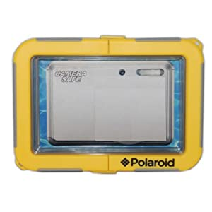 "Polaroid Dive-Rated Waterproof Camera Housing - Protects Virtually Any Ultra Compact ""FIXED"" Lens Camera"