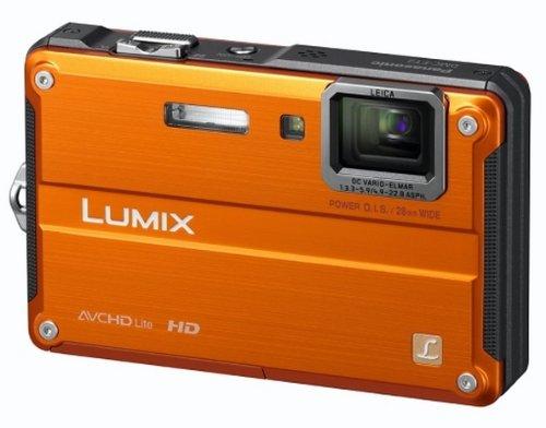 Panasonic Lumix FT2 Digital Camera - Orange (14.1MP,2.7 inch LCD, 4.6x Optical Zoom)