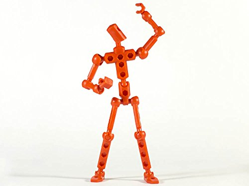 ModiBot Mo Action Figure Kit - Red
