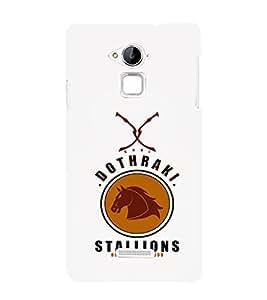 EPICCASE Dothraki stallions Mobile Back Case Cover For Coolpad Note 3 Lite (Designer Case)