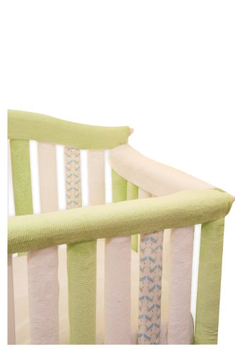 Go-Mama-Go-Designs-Reversible-Teething-Guard-WhiteGreen-30-X-6