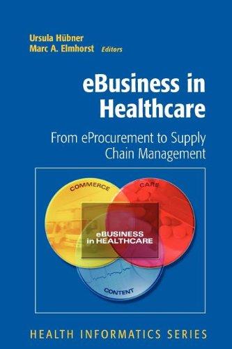 eBusiness in Healthcare (Health Informatics)