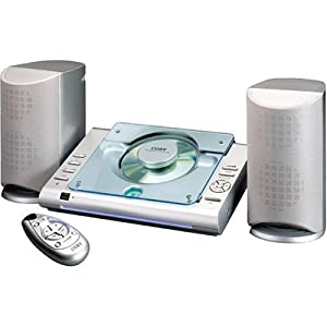Coby CX-CD375 Micro Stereo System with Top-Loading CD Player (Discontinued by Manufacturer)