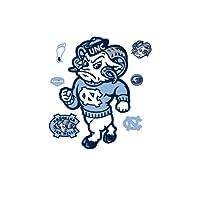 Rameses North Carolina Tar Heels Mascot Wall Decal