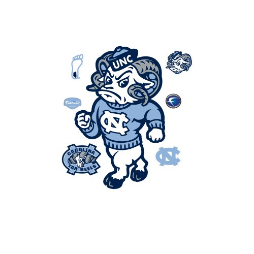 Rameses North Carolina Tar Heels Mascot Wall Decal at Amazon.com