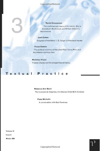 Textual Practice Volume 12 Issue 3