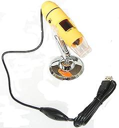 New Landing Orange Color 1-200x Usb Microscope