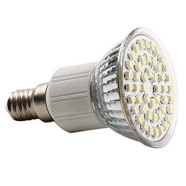 E14 3W 48X3528 Smd 120-150Lm Natural White Light Led Spot Bulb (230V)