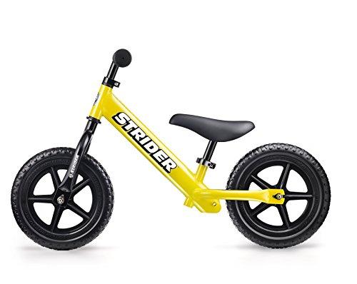 Kids Running Bike Strider (ST-J4) yellow ( Japan genuine ) (1 year warranty with peace of mind )
