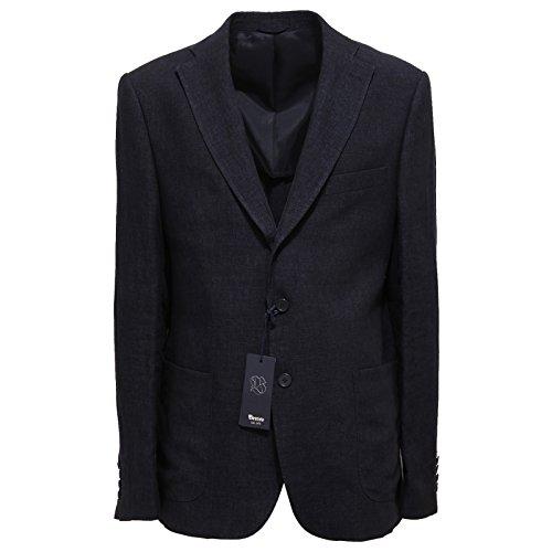 3309Q giacca uomo BRECO'S OSTUNI lino blu jacket men [54]