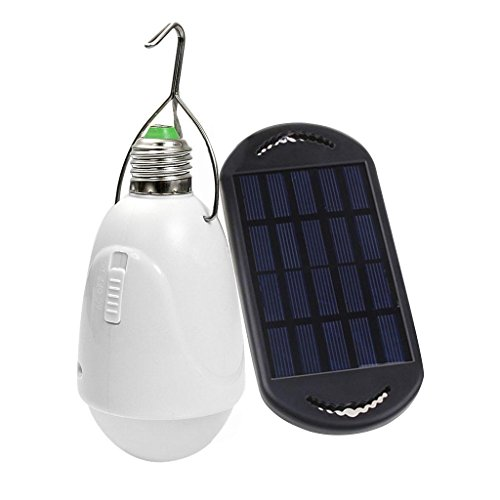 Portable Solar Led Hiking Outdoor Camping Light Bulbs,Water Resistant Ultra Bright Energy Efficient for Bedroom Home Outdoor Hiking Fishing Tent Emergency Lighting USB Rechargeable (Tent Heater Indoor compare prices)