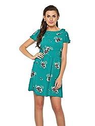 Estellin Floral Print Shift Dress (Small)