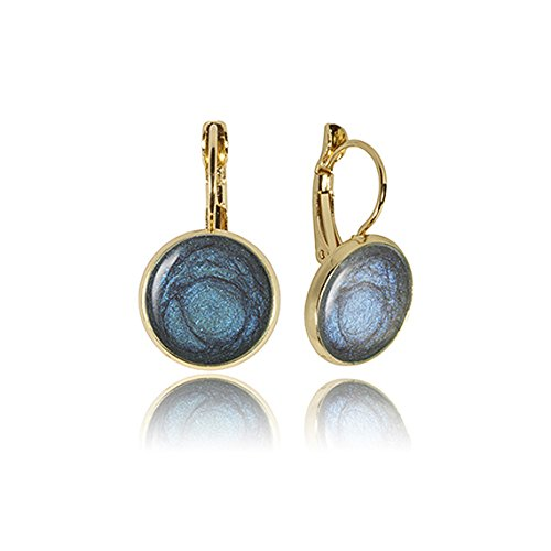 dark-blue-gold-earrings-new-years-gift-by-dragon-porter