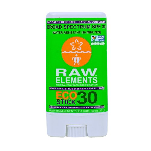 Raw Elements Eco Form Sunscreen Stick Spf 30 .6 Oz