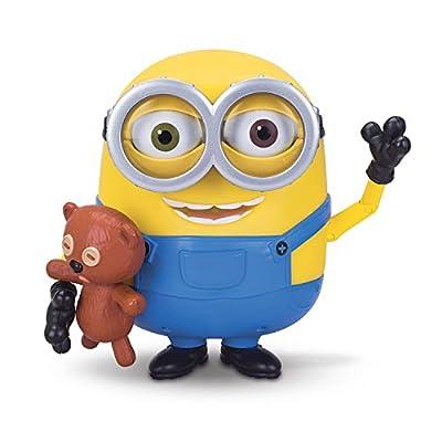 Minions Bob Interacts with Teddy Bear