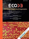 img - for Emergence, Volume 9 : Complexity & Organization (9.1-2) (Paperback)--by Kurt A. Richardson [2007 Edition] book / textbook / text book