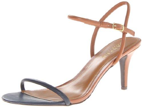 Lauren Ralph Lauren Women'S Taja Dress Sandal,Polo Tan/Modern Navy,7 B Us
