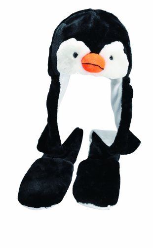 Tiermütze Fellmütze Fliegermütze - Pinguin