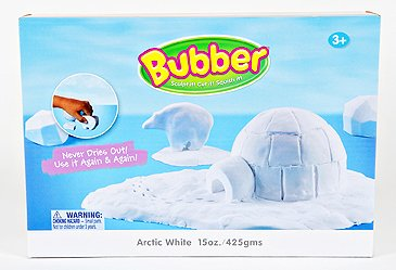 BUBBER BUCKET 15 OZ WHITE